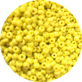 Rocailles yellow 3mm