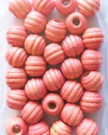 roze ribbelkraal 30st