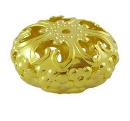Filigrain kraal goud