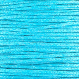 waxkoord blauw