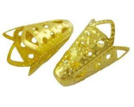 Filigrain kapje voor kralen goud