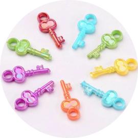 Rainbow key mix 100st