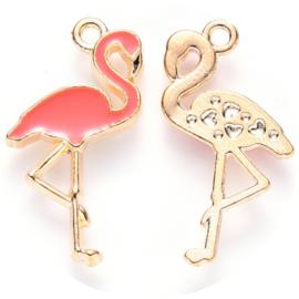 Bedels Flamingo koraalroze