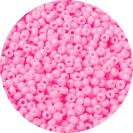Miyuki candy pink 8/0