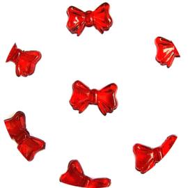 Kraal rood strikje