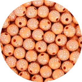 Glitter Dots orange