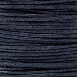 waxkoord donkerblauw
