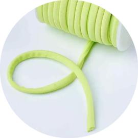 Elastisch gestikt koord neon groen