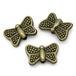 vlinder brons 10st