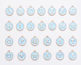 Bedels Alfabet blauw 26st