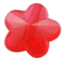 Rood bloem 20st