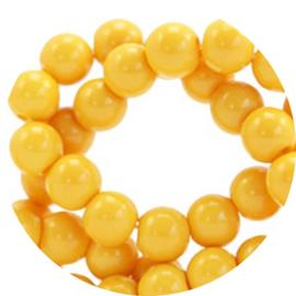 Glaskralen yellow 50st