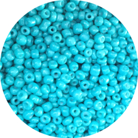 Rocailles turquoise 3mm