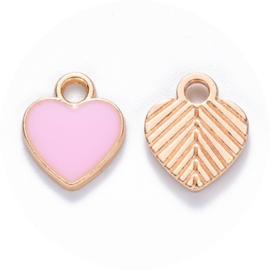 Bedels Pink heart 10st