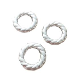 Gesloten metallook ringen