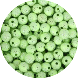 Glitter Dots  green