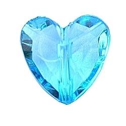 Blauw hartje 20st
