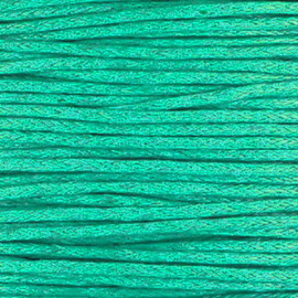 waxkoord turquoise