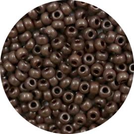 Miyuki rocailles brown 8/0