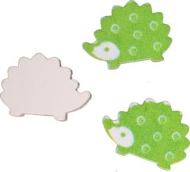 Lief egeltje groen