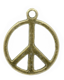 Bedel peace brons
