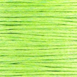waxkoord groen