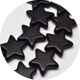 Kralen black star 10st