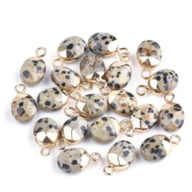 Bedels gold plated dalmatiër jaspis