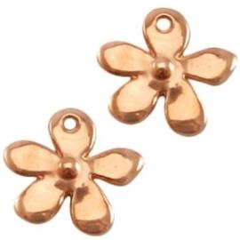 DQ bedel bloem rosegold