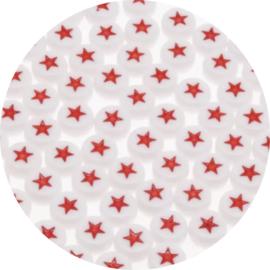 Letter sterretjes rood 25st