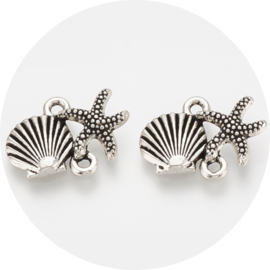 Bedels shell & starfish 10st