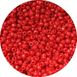 Rocailles ruby red 3mm