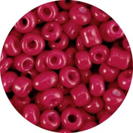 Kralen rocailles cherry