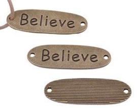 Believe brons