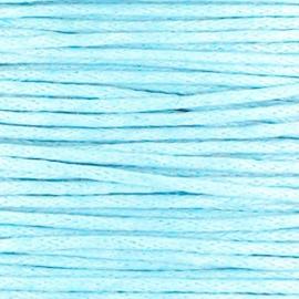 waxkoord licht blauw