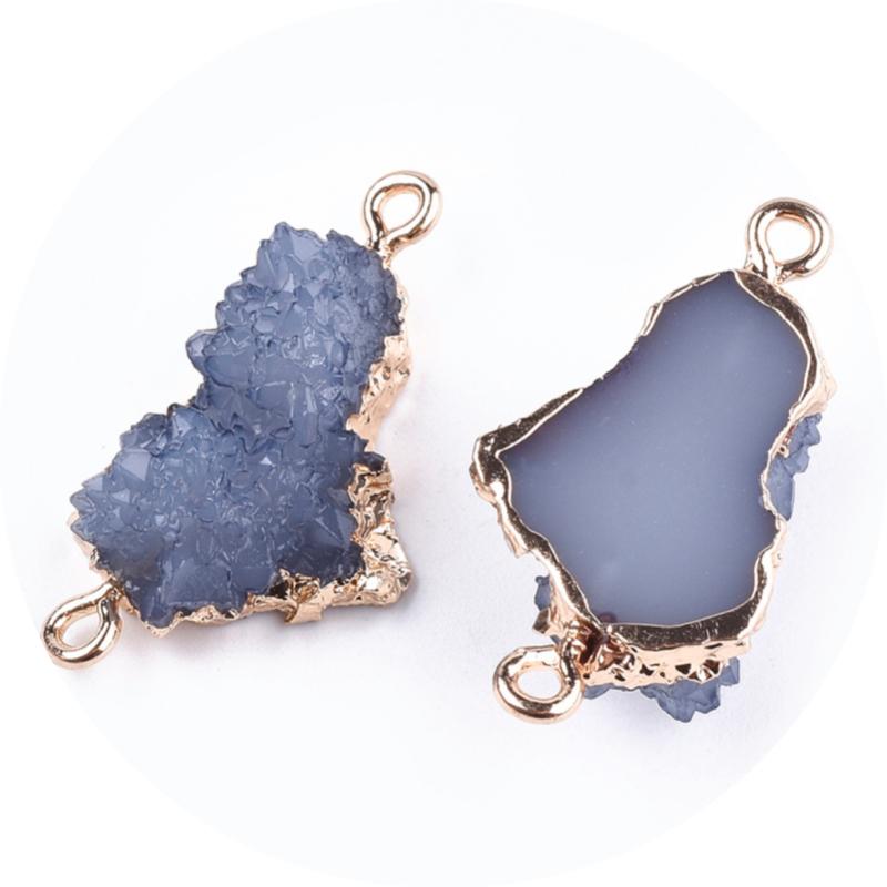 Resin stone grey blue