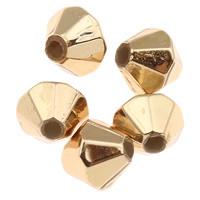 Kralen gold diamond 5mm