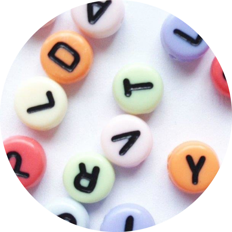 letterkralen sweet mix 100st