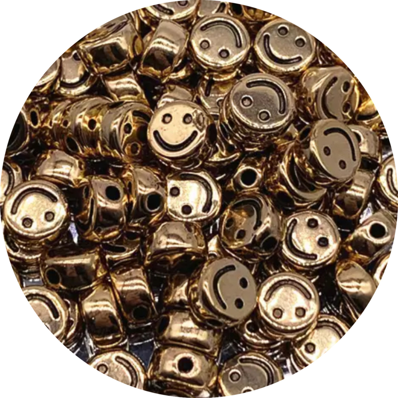 Smiley shiny gold 10st