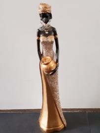 Afrikaans beeld vrouw