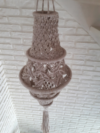 Lamp macrame