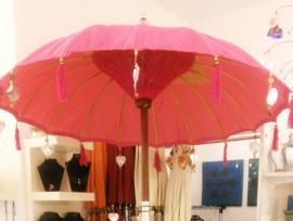 Waterdichte parasol enkel, Diameter van 1,5 meter (diverse kleuren)