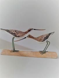 2 vogels op stam