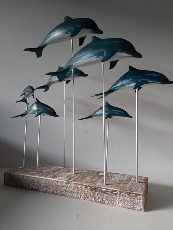 Dolfijnen op standaard L