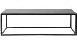 Metalen zuil Black Serie liggend - 100 cm x 35 cm x 35 cm (BxLxH)