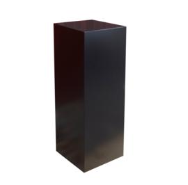 GM Schwarze Hochglanz Sockel - 30 cm x 30 cm x 100 cm (BxTxH)
