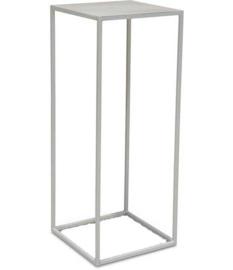 Metalen zuil White serie - 38 cm x 38 cm x 80 cm (BxLxH)