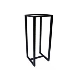 Metalen frame (1 dwarsbalk onder)- 30x30x100 Cm
