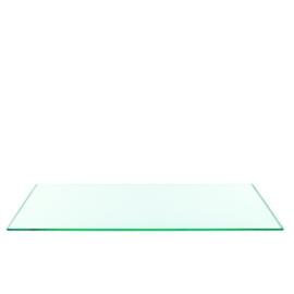 Glass Platte Transparant 33x33 cm