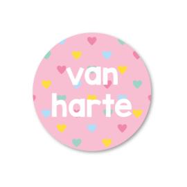 5 Stickers | van harte